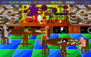 The Wacky World of Wally Weasel - náhled