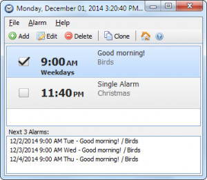 Free Alarm Clock - náhled