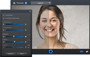 CyberLink YouCam - náhled