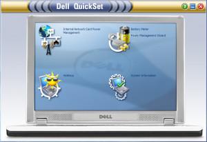 Dell QuickSet - náhled
