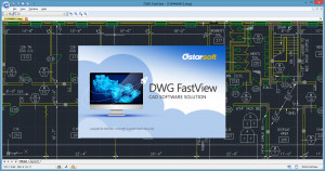 GstarCAD DWG FastView - náhled