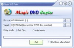 Magic DVD Copier - náhled