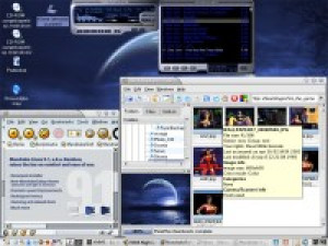 Mandrake Linux - náhled