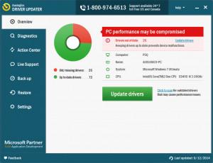 Auslogics Driver Updater - náhled