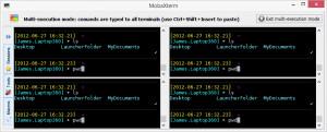 MobaXterm - náhled
