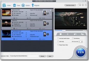 WinX Mobile Video Converter - náhled
