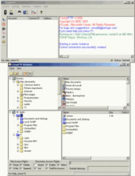 CesarFTP - náhled