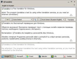 QTranslate - náhled