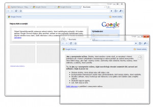 Google Chrome - náhled