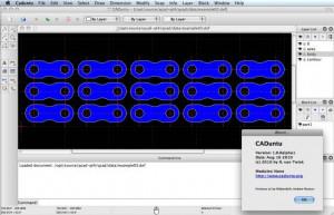 LibreCAD - náhled