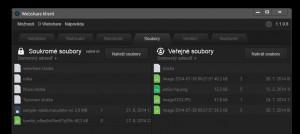 Webshare Klient - náhled