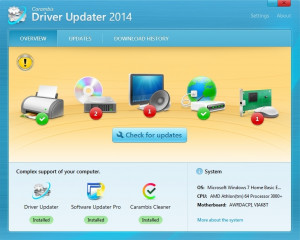 Carambis Driver Updater - náhled
