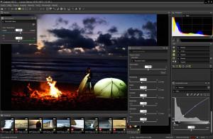 Nikon Capture NX-D - náhled