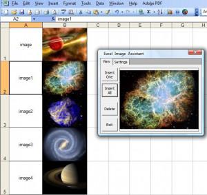 Excel Image Assistant  - náhled