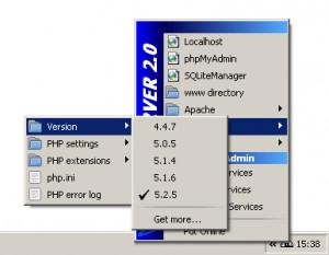 WampServer - náhled