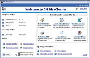 CM DiskCleaner - náhled