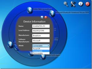 Bluetooth Radar - náhled
