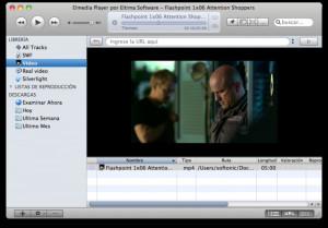 Elmedia Player - náhled