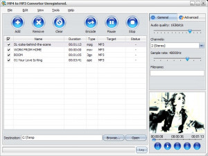 MP4 to MP3 Converter - náhled