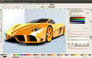 Inkscape - náhled