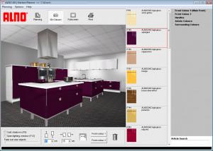 ALNO AG Kitchen Planner - náhled