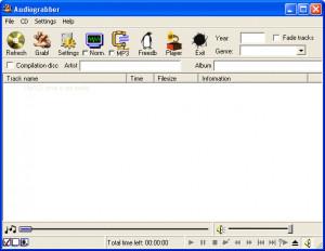 Audiograbber - náhled