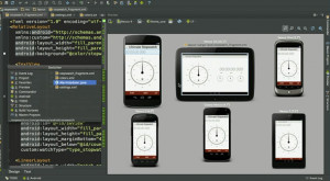 Android Studio - náhled