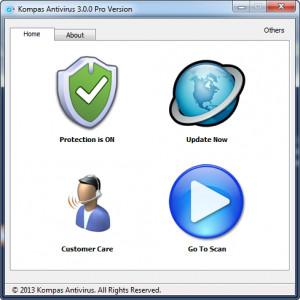 Kompas Antivirus - náhled
