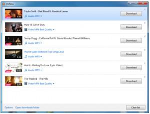 DLNow Video Downloader - náhled