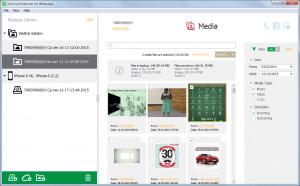Elcomsoft eXplorer for WhatsApp - náhled