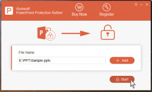 PowerPoint Protection Refixer - náhled