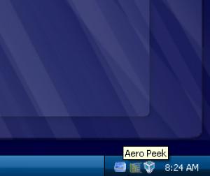 AeroPeek - náhled
