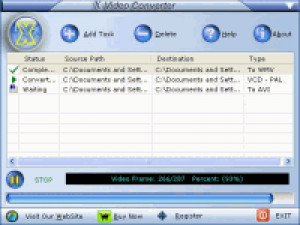Advanced X Video Converter - náhled
