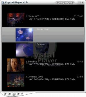 Crystal Player PRO - náhled