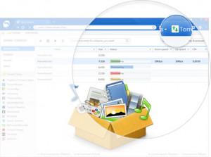 Baidu Spark Browser - náhled
