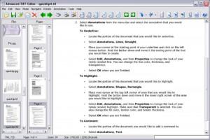 Advanced TIFF Editor Plus - náhled