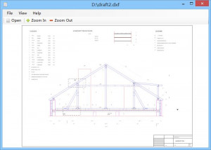 DXF Viewer - náhled