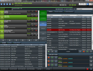 RadioDJ - náhled