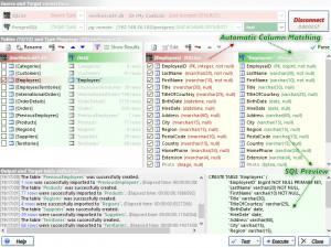 dbMigration .NET - náhled