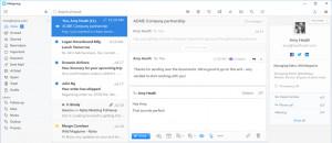 Mailspring - náhled