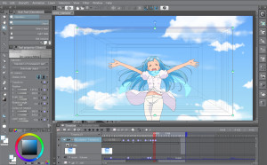 Clip Studio Paint  - náhled