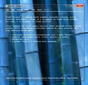 Glass Notepad - náhled