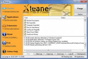 Xleaner - náhled