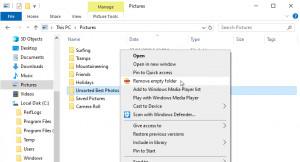 Remove Empty Folder - náhled
