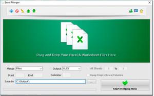 Excel Merger - náhled