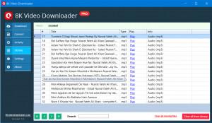 8K Video Downloader - náhled