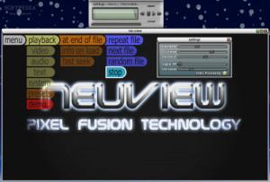 Neuview Media Player - náhled