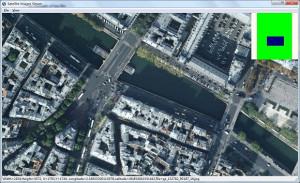 Google Satellite Maps Downloader - náhled