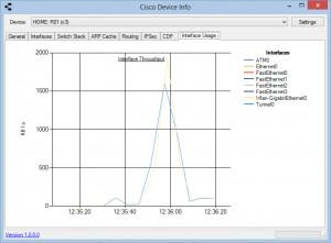 Cisco Device Info - náhled