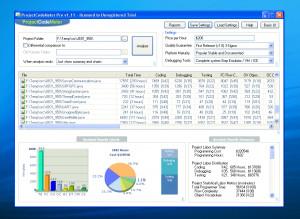ProjectCodeMeter - náhled